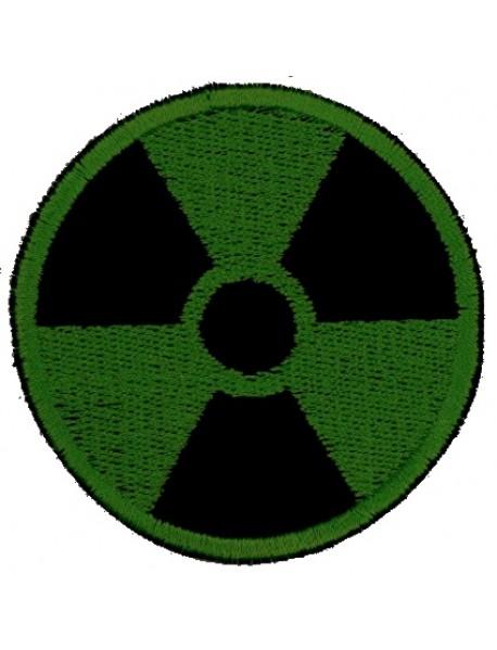 Biohazard Gamma Radiation Radioactive Symbol (Green)