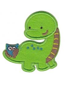 Dinosaur & Owl