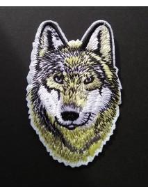Wolf Head (White)