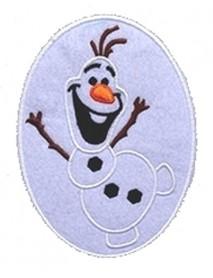 Frozen (Olaf Snowman Oval)
